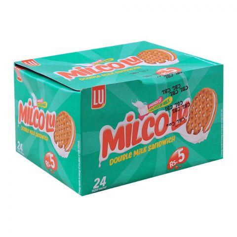 LU Milco LU Milk Sandwich Biscuits, 24 Ticky Packs