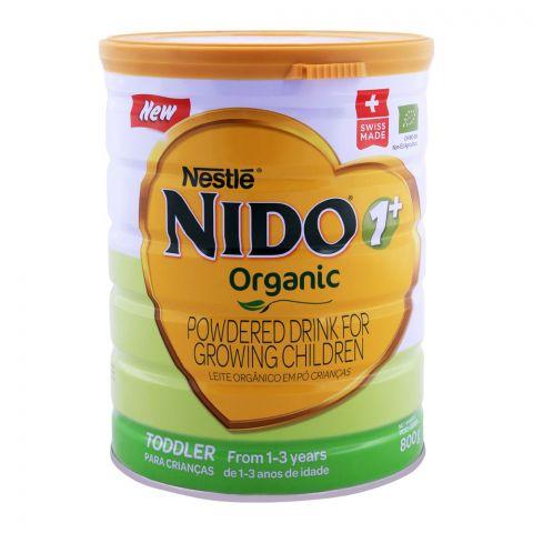 Nido Organic, 1+, Growing Children Milk Powder 800g