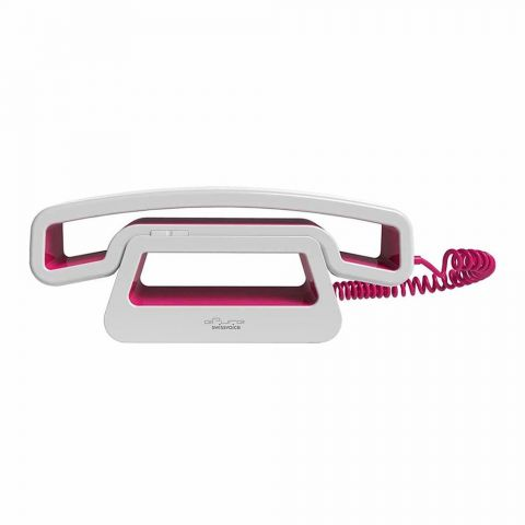 SwissVoice ePure Mobile Corded Handset, Pink, CH01