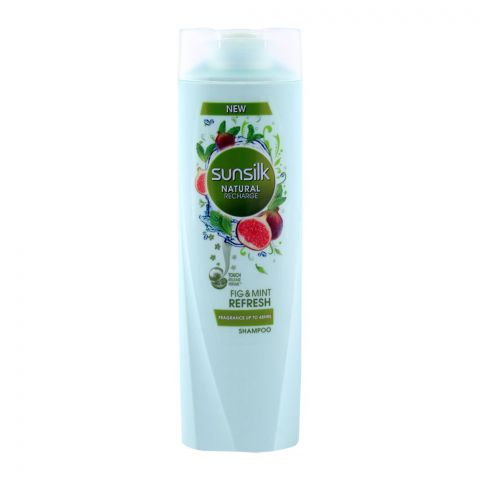 Sunsilk Fig & Mint Refresh Natural Recharge Shampoo 200ml