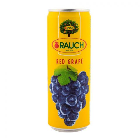 Rauch Red Grape Juice 355ml Can