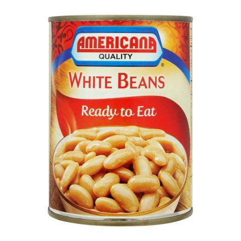 Americana White Beans, Tin, 400g