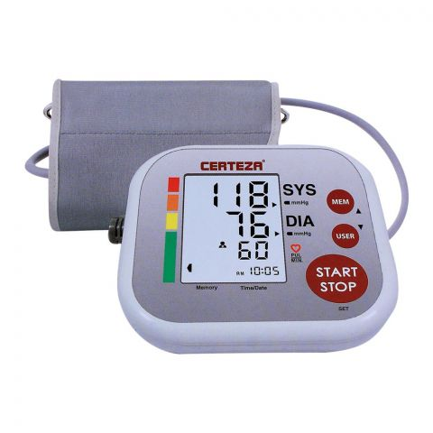 Certeza Digital Blood Pressure Monitor, Universal Cuff, BM-405