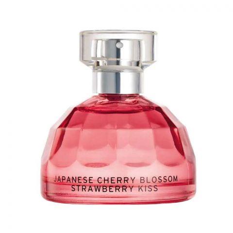 The Body Shop Japanese Cherry Blossom Strawberry Kiss Eau De Toilette, Fragrance For Women, 100ml