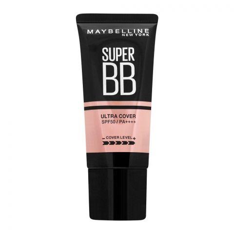 Maybelline New York Super Cover BB Cream, SPF 50, 01 Fair