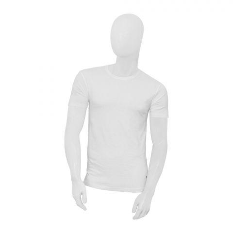 Adam Men's T-Shirt, 1 Pack, White, 2772
