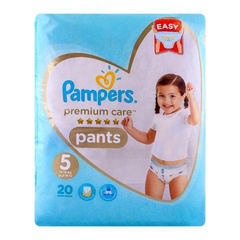 Pampers Premium Pants No. 5, 12-18kg 20-Pack