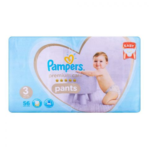 Pampers Premium Pants No. 3, 6-11kg 56-Pack