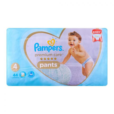 Pampers Premium Pants No. 4, 9-14kg 44-Pack