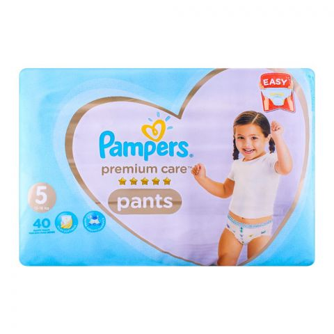 Pampers Premium Pants No. 5, 12-18kg 40-Pack