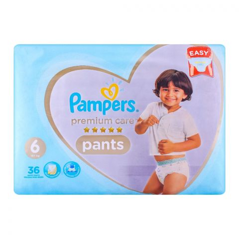 Pampers Premium Pants No. 6, 16+kg 36-Pack