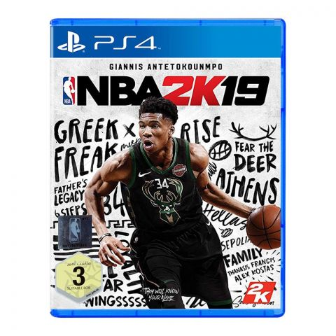 NBA 2K19 - PlayStation 4 (PS4)