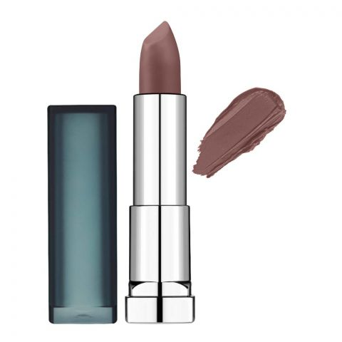 Maybelline New York Color Sensational Matte Lipstick, 988 Brown Sugar