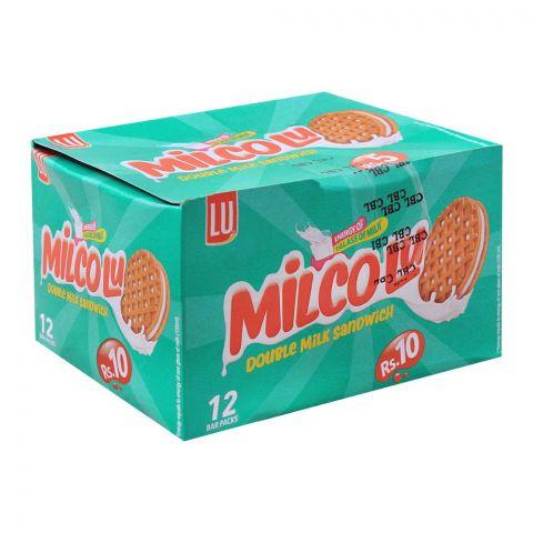 LU Milco LU Milk Sandwich Biscuits, 12 Bar Packs
