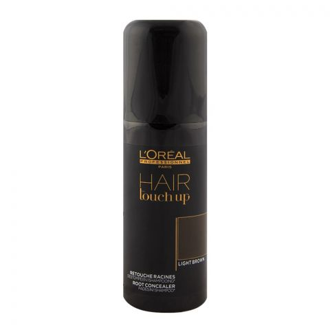 L'Oreal Hair Touch Up Light Brown Concealer Spray 75ml