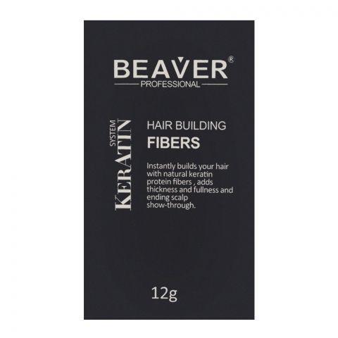 Beaver Professional Keratin System Hair Building Fibers Gray 12g