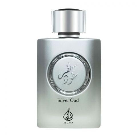 Asdaaf Silver Oud Unisex Eau De Parfum, 100ml