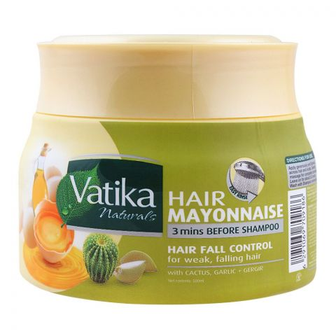 Dabur Vatika Hair Mayonnaise Hairfall Control Treatment, 500ml