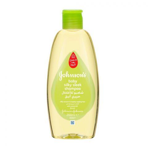 Johnson's Baby Silky Sleek Shampoo, 200ml