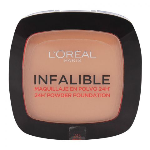 L'Oreal Infalible 24H Powder Foundation 245 Warm Sand