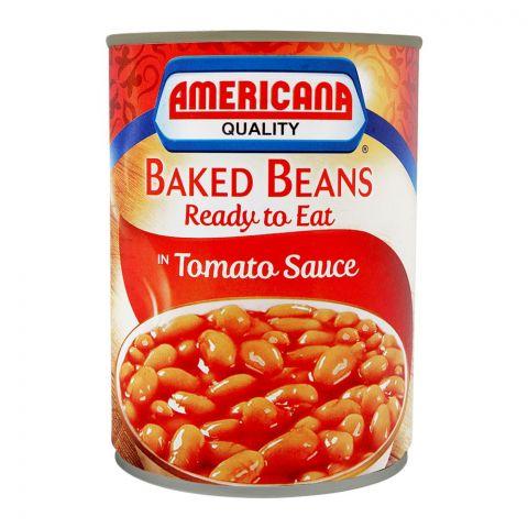 Americana Baked Beans 400g, Tin, Tin