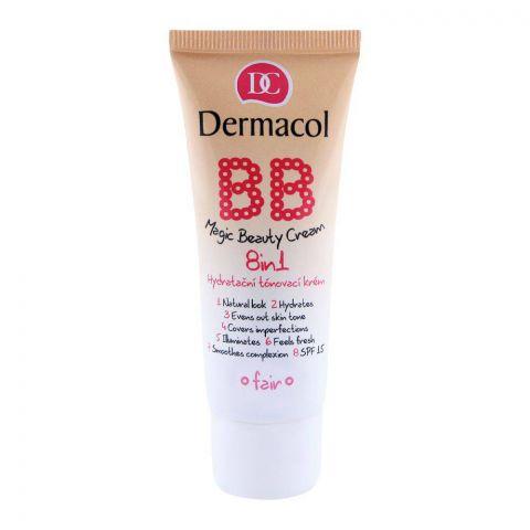 Dermacol BB Magic Beauty 8-in-1 Cream, Fair, 30ml