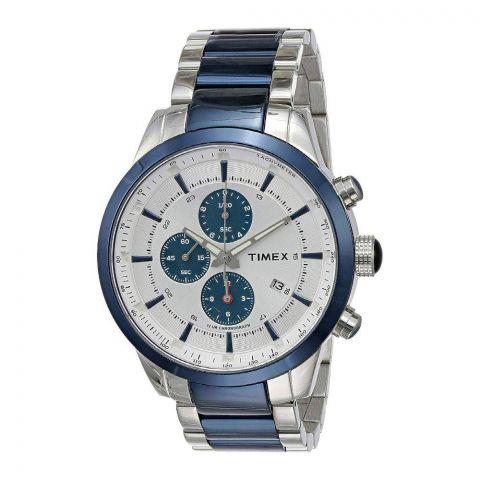 Timex Analog Blue Dial Men's Watch - TW000Y419