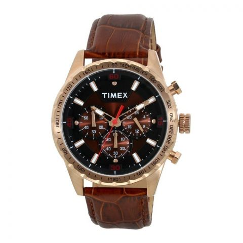 Timex Analog Black Dial Men's Watch - TWEG15601