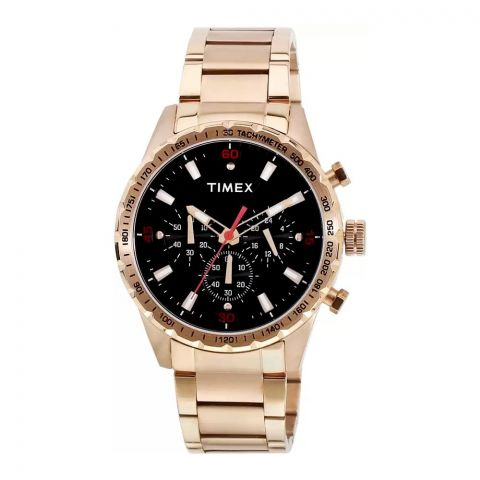 Timex Analog Black Dial Men's Watch - TWEG15606