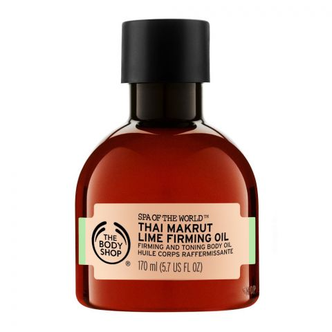 The Body Shop Spa Of The World, Thai Makrut Lime Firming Oil, 170ml