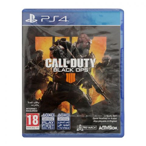 Call Of Duty Black Ops 4, PlayStation 4 (PS4)