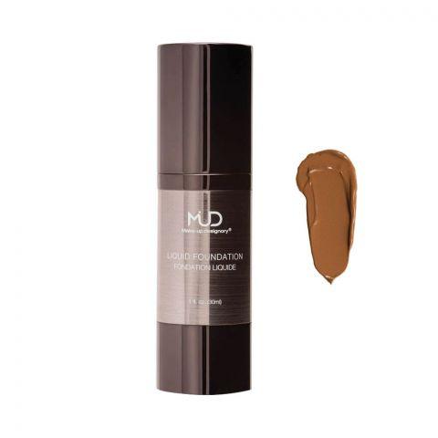 MUD Makeup Designory Liquid Foundation, D2