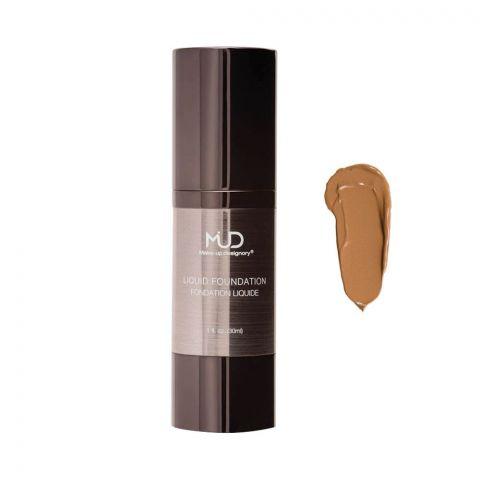 MUD Makeup Designory Liquid Foundation, M3