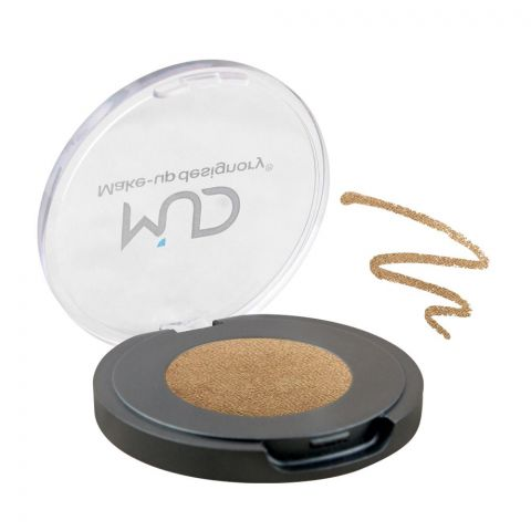 MUD Makeup Designory Eye Color Compact, Spanish Gold