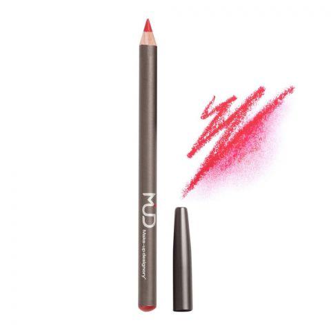 MUD Makeup Designory Lip Pencil, Red