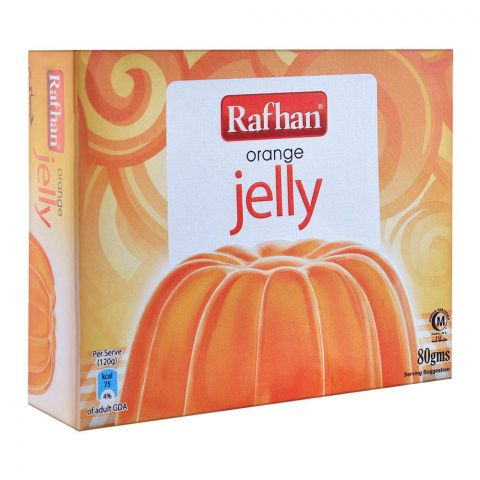 Rafhan Orange Jelly Powder 80g
