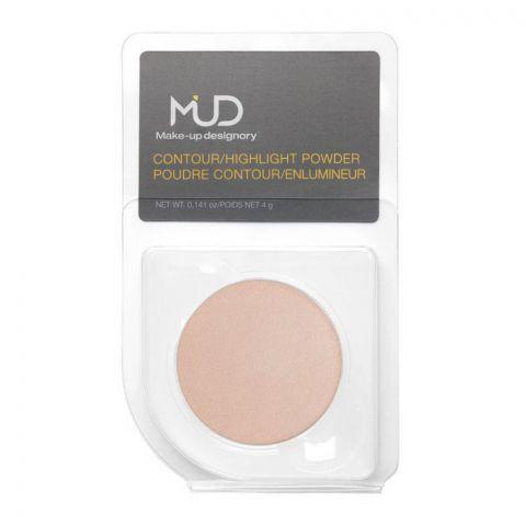 MUD Makeup Designory Contour & Highlighter Powder, Highlight Luster