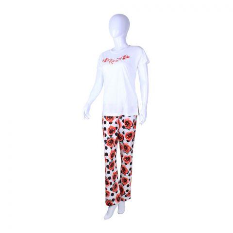 BLS Loungwear Pajama Set Ecru