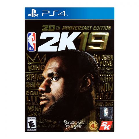 NBA 2K19 20th Anniversary Edition - PlayStation 4 (PS4)