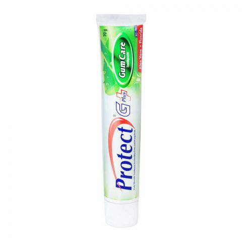 Protect G Plus Gum Care Aloe Vera + Fluoride Toothpaste, 70g