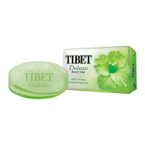 Tibet Deluxe Beauty Soap, Extra Creamy, Green, 140g