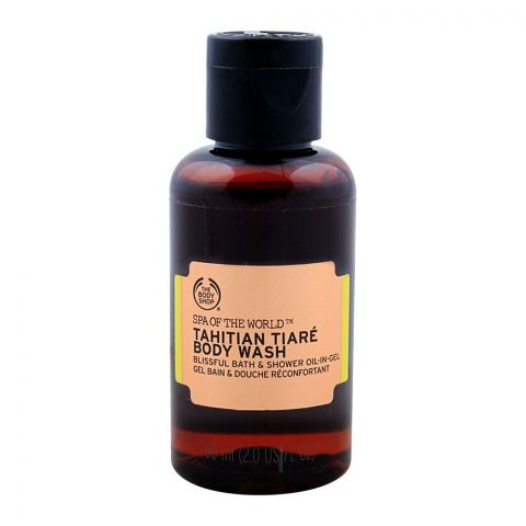 The Body Shop Spa Of The World Tahitian Tiare Body Wash, 60ml