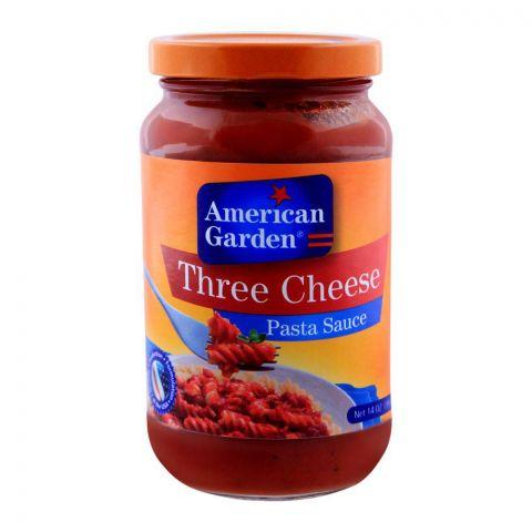 American Garden Three Cheese Pasta Sauce 397g