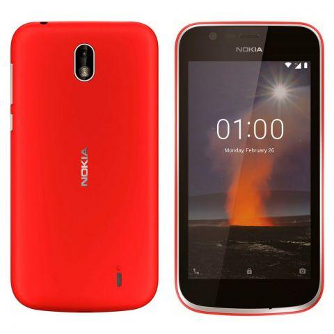 Nokia 1 Dual SIM 1GB 8GB Warm Red Smartphone - TA-1047