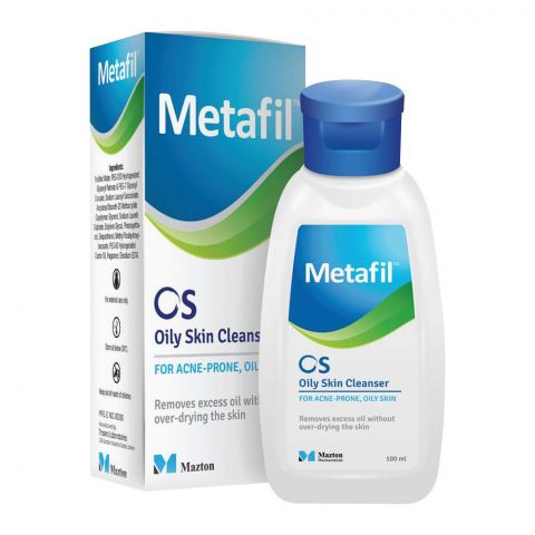 Metafil OS Oily Skin Cleanser, For Acne-Prone and Oily Skin, 100ml