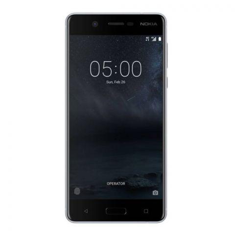 Nokia 5 Dual SIM 2GB 16GB Silver Smartphone - TA-1053