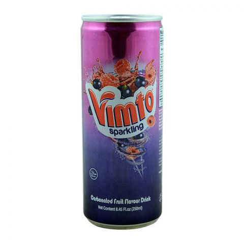 Pakola Vimto Fruit Flavour Drink Can 250ml