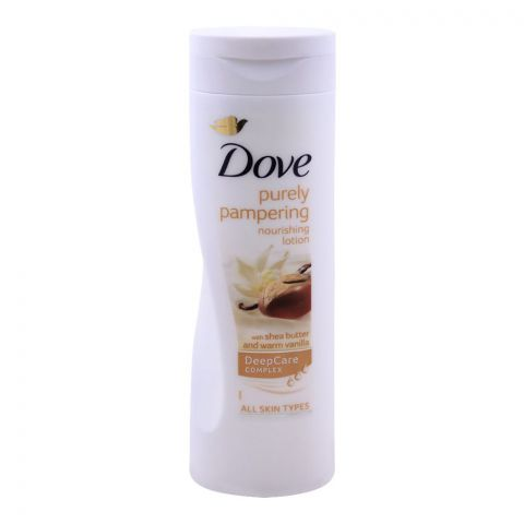 Dove Purely Pampering Nourishing Body Lotion, With Shea Butter, For All Skin Types, 250ml