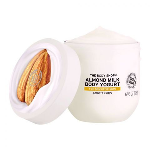 The Body Shop Almond Milk Body Yogurt, For Sensitive Skin, 198g