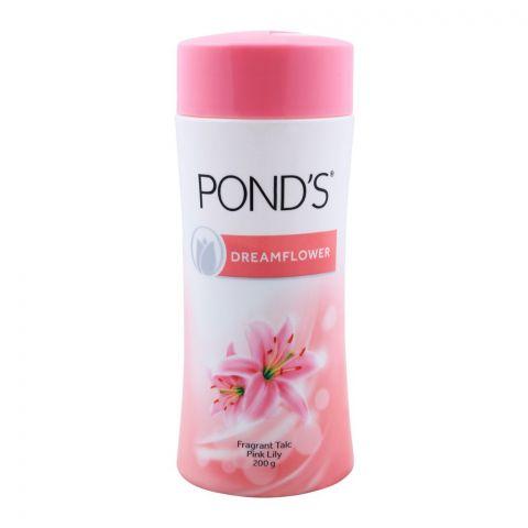 Pond's Dream Flower Pink Lily Fragrant Talcum Powder, 200g